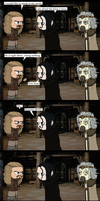LOTR: Desperate for Help by Kumama