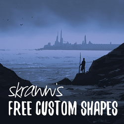 Sketch a day 100 + free custom shapes! by skraww