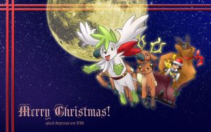 Pokemon - Xmas 2008 Wallpaper