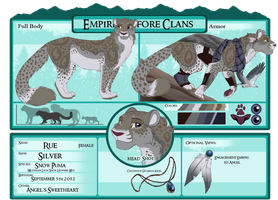 EBC Application Rue the Silver Griffin by CCDooMo