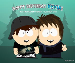 Happy Birthday Kevin! by hercamiam
