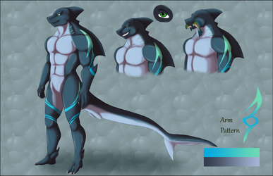 Gillian Shark Reference by LadyDistort