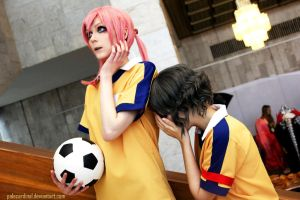 Don't cry, baby Shindou :3 by palecardinal