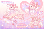 Adoptable Auction: Magical Girl DOLCE (CLOSED) by lemiilily