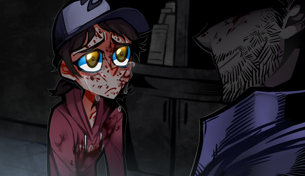 Don't cry little Clementine by zukich