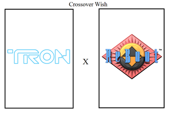 Crossover Wish - Tron and ReBoot by Tito-Mosquito