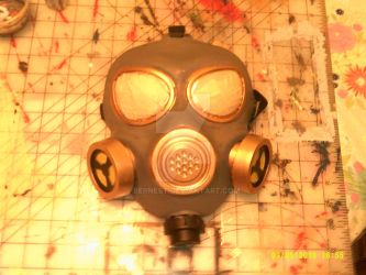 MLP Pest Pony gas mask by BERNEST