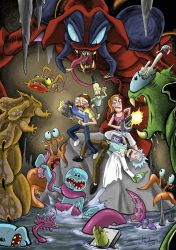 Rick and Morty in the Cavern of Smroops by Heat16