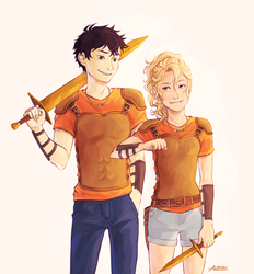 We were twelve Percy. Can you believe that.2/2 by Alexgv-art