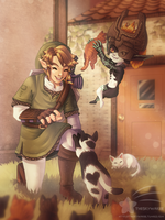 Go pet some cats by theskywaker
