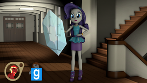 [EqG] Rarity from Shorts [SFM] [Gmod] by EmpireOfTime