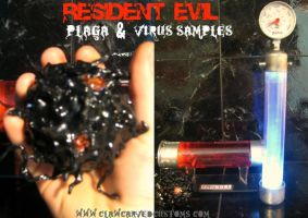 RESIDENT EVIL 4-5 GAME PROPS by symbiote-x