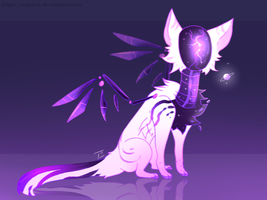 [CLOSED] adoptable Auction / Shimmering Planet by Topolok