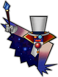 Count Bleck (Modern)- Super Paper Mario 10th by Fawfulthegreat64