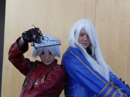 Dante and... Vergil...? oO by Yuli-chan