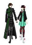 Laura x Linus in Amnesia Memories costumes by Laura-Moon97