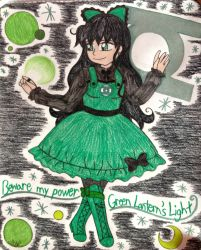 .:Super Hero Lolita:. Green Lantern by SarahsPortfolio