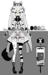 gothic Nurse Sychobunn adoptable closed by AS-Adoptables