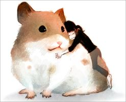 hamster and me by bean8808