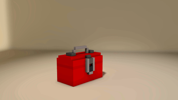 Tf2 Voxel Sentry by SalvaGraphics