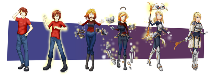 COMMISSION: Lux TG Sequence by FieryJinx
