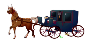 Horse+carriage  - [comm] by Riboo