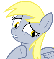Worried Derpy Vector by GreenMachine987