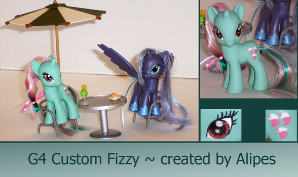 MLP G4 Fizzy Custom by Alipes