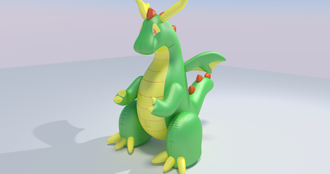 everyones favorite inflatable dragon by Q2839