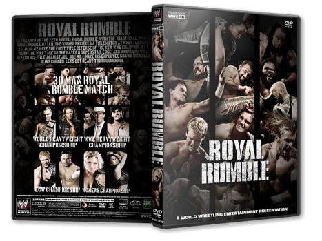 Royal Rumble 2009 DVD Cover by Mr-Damn