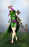 clash of clans / Queen Archer by alexhp25