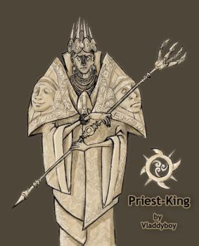 Priest-King by Vladdyboy