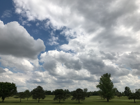 BT GC Clouds Over the Course IMG 1979 by TheStockWarehouse