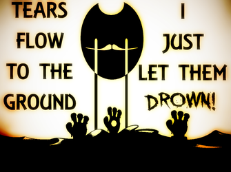 Crybaby (Bendy OC) by 6The6Overlord6