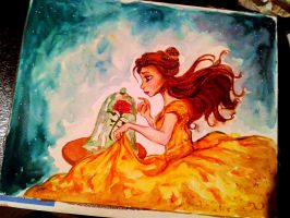 Belle - Beauty and the Beast by 32jean34
