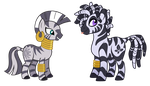 My Little Zebra by Lopoddity