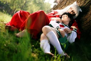Inu Yasha - After The Battle by aco-rea