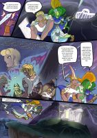 Medusa:Warrior of Justice the Graphic novel Pg 18 by BubbleDriver