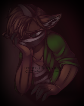 .:I'm Just Tired:. by Uncanny-Illustrator