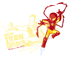 NEW IRON SPIDER-MAN 2 by Frederic-Mur