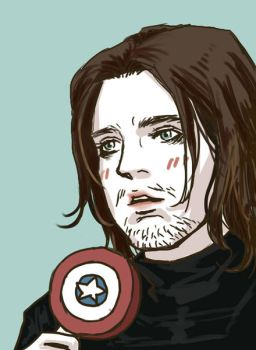 Bucky and lollipop by dosruby