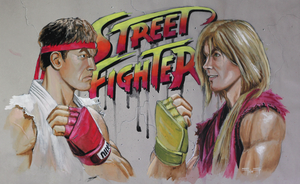 Street Fighter Retro by GabeGault