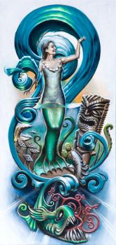 Temptress Of The Sea - 2012 by WRWalters