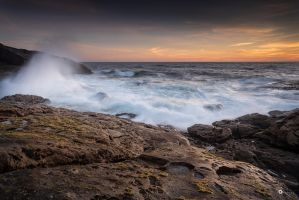 Angry sea by MarcosRodriguez