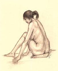 Life Drawing 03 by eterna2