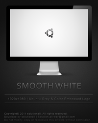 Smooth White Embossed by solutionall
