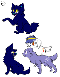 Puppies! by MoonGazerThePony