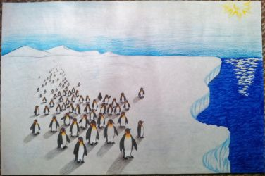 Perspective on Penguins by xX-C-h-a-r-l-i-e-Xx