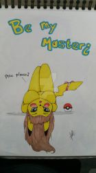 Be my master? Pikatchu by LilleJah