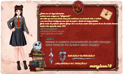 FICHA CDM PART2 -HOGWARTS MARYLUSA18 by Marylusa18